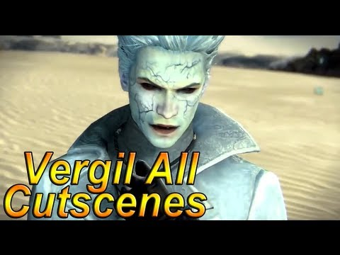 DmC Devil May Cry 5: 'Vergil's Downfall All Cutscenes' Complete Movie【HD】