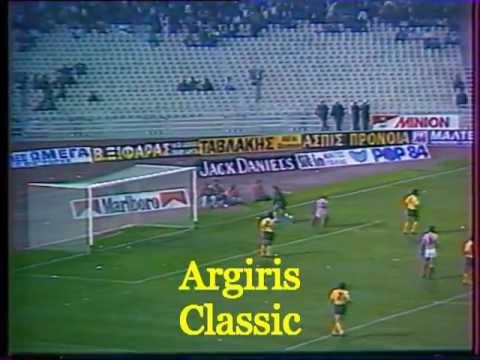 1988-89 ΟΛΥΜΠΙΑΚΟΣ - ΑΕΚ 0-1   ΚΑΡΑΓΚΙΟΖΟΠΟΥΛΟΣ  ( ΕΤ 1 )