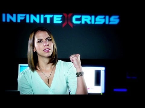 Infinite Crisis - Behind the Voice - Laura Bailey as Mecha Wonder Woman
