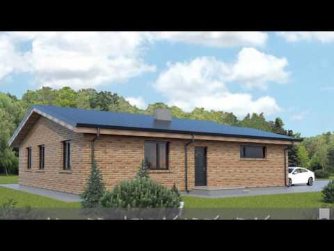 Ekonominis vieno aukšto gyvenamasis namo projektas Kristupas | NPS projektai