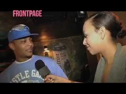 FRONTPAGE DETROIT raps with T.I.