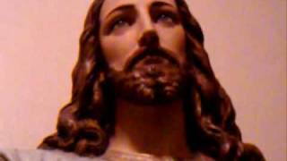 A Miraculous Video Of A Sacred Heart Statue