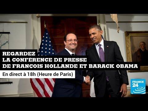 Édition spéciale : visite de François Hollande à Washington