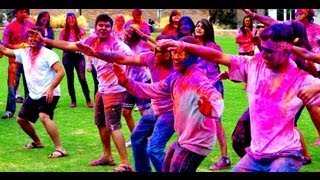 FLASH MOB HOLI At CU 2013 Festival Of Colors At