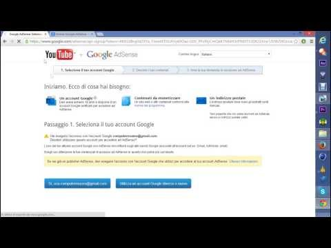 GUIDA - associare account youtube ad adsense
