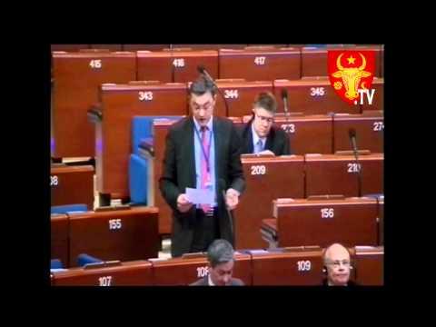 Alocutiunea deputatului PD Igor CORMAN la APCE