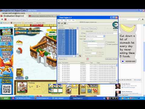 Social Empires Hack Cash+Strong Units Cheat Engine 6.2 2013