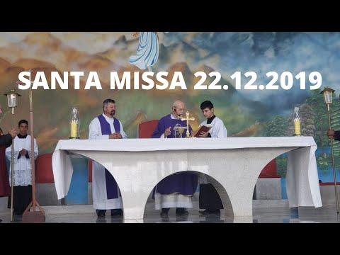 Santa Missa | 22.12.2019 | Padre José Sometti | ANSPAZ