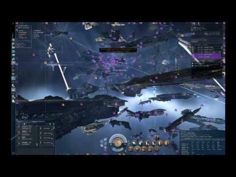 EVE Mass Testing - 600 man fleet battle, Mass test on 5-6th August, fleet battle varied from around 500-600 people. We had massive lag, no guns would cycle so it's mostly just me observing in a crap...