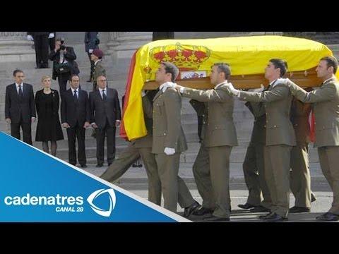 España despide al expresidente Adolfo Suárez con honores