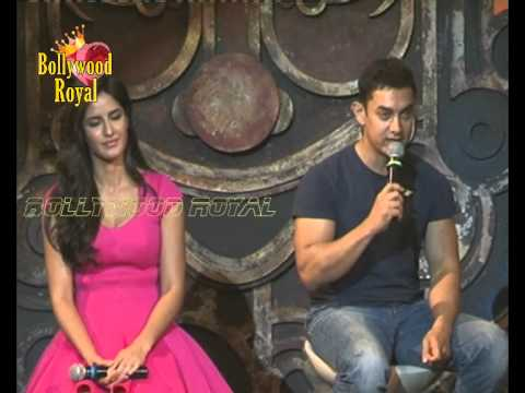 Aamir Khan and Katrina Kaif at title song 'Dhoom Machale' of 'Dhoom 3' 4