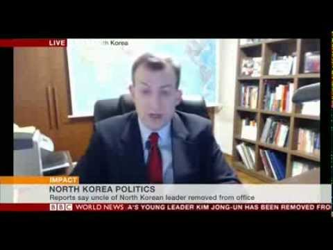 Robert Kelly, BBC News - NK Removal of Jang Song Thaek