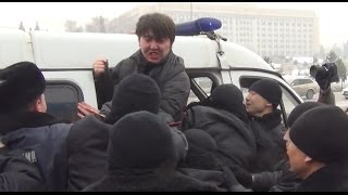 Miliția reține organizatorii unui miting pașnic #Cazahstan