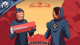 Surviving Mars - The Resources of Mars