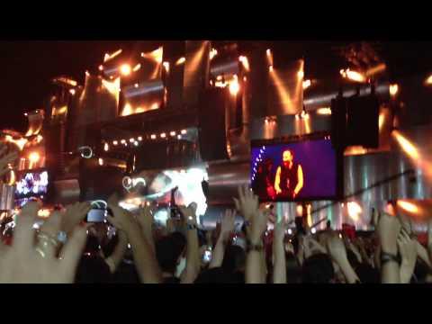 David Guetta no Rock in Rio 2013 - Titaniun