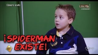 El Hormiguero: Spiderman existe