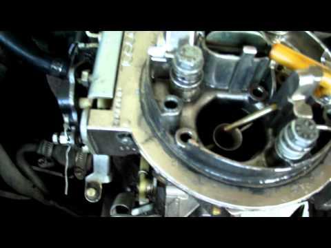 Carburador Afogando 2° estagio