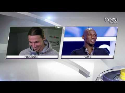 [Must watch] Funny interview Zlatan Ibrahimovic & Camara 24/02/2014 HD