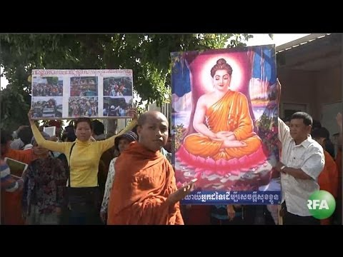 Cambodian Activists Protest Thai Deportations