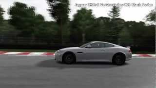 FM4: Jaguar XKR-S Vs Mercedes C63 Black Series videos