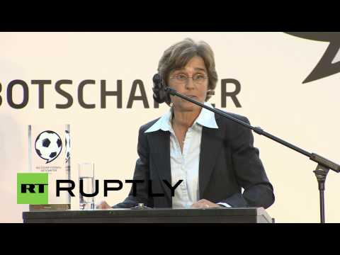 Germany: Monika Staab wins German football ambassador award