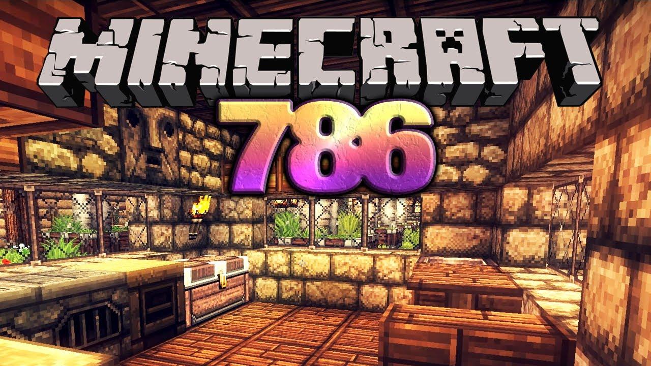 let 39 s play minecraft 786 deutsch hd k che kekse rallye streifen youtube. Black Bedroom Furniture Sets. Home Design Ideas