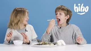Dinners | American Kids Try Food From Around the World | Ep 3