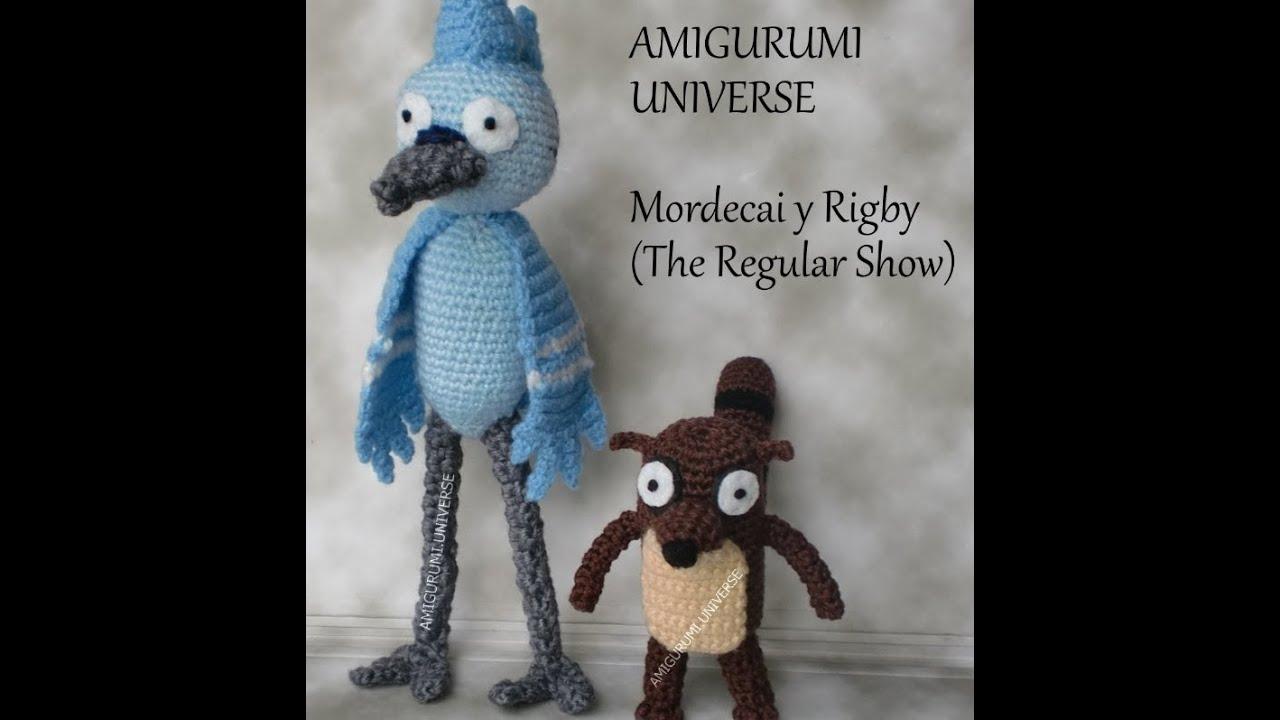Amigurumi Universe : Regular Show. Mordecai & Rigby by Amigurumi Universe ...