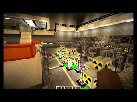 Minecraft IC2 Power Plant