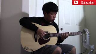 (Ed Sheeran/Hobbit OST) I See Fire-Fingerstyle Cover WITH