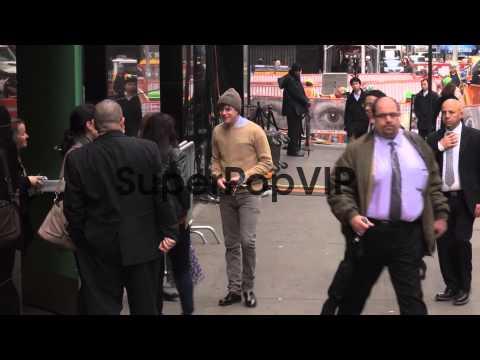 Dane DeHaan arrives at Good Morning America - Celebrity S...