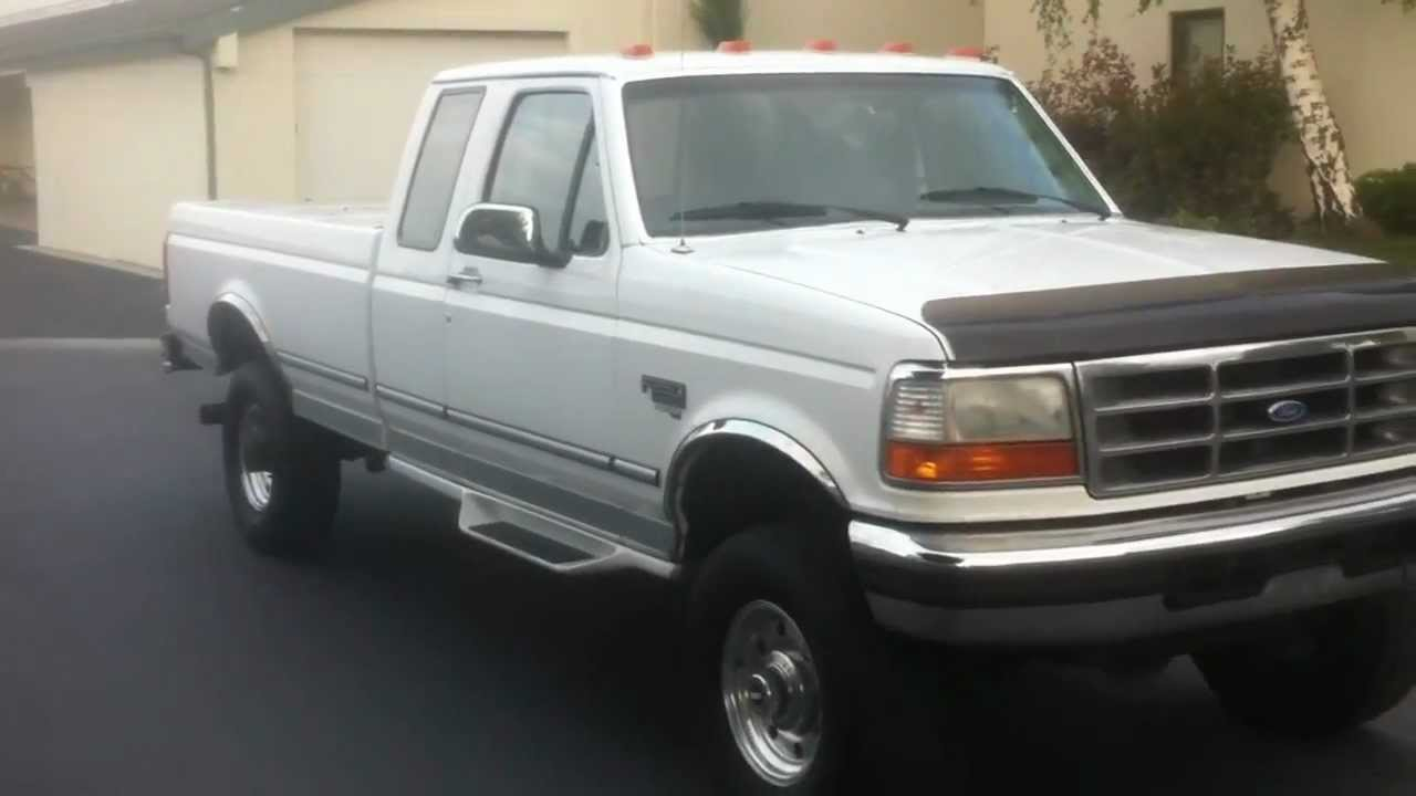 1996 ford powerstroke f250 7 3 diesel for sale clean youtube. Cars Review. Best American Auto & Cars Review