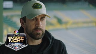 Aaron Rodgers honored to be in the GOAT conversation I NFL I NBC Sports