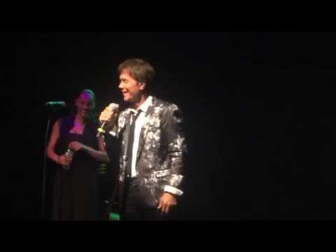 Sir Cliff Richard in New York - Kick off intro and song - June 21 2014