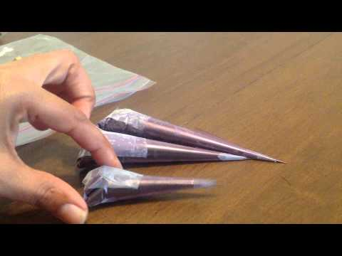 Storing Henna Cones Fresh | Mehandi Cone Instructions