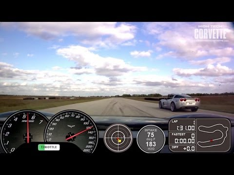 700hp Z06 - MSR - Gauge Overlay - Run 2