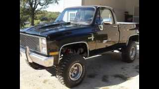 1987 Chevy Restoration