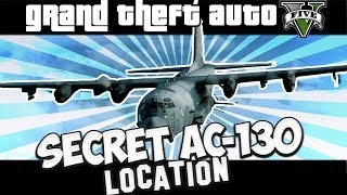 GTA V SECRET C-130 LOCATION! (NO STARS!)