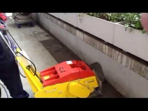 Hình ảnh trong video 超強力床シート剥がし機