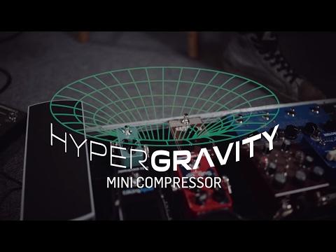 TC Electronic HyperGravity Mini Compressor Guitar Effects Pedal