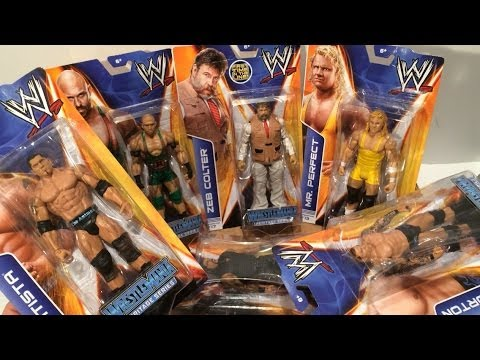 WWE Series 37 wrestling figures UNBOXING! Zeb Colter, Roman Reigns, Ryback!