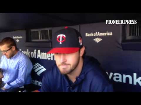 Video: Phil Hughes says he was surprised to hear Derek Jeter is retiring. #mntwins #Yankees