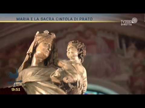 Maria e la Sacra cintola di Prato