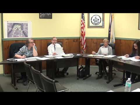 Champlain Village Board Meeting 3-9-20
