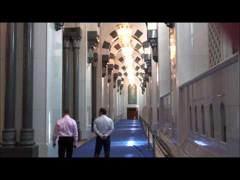 The Sultan Qaboos Grand Mosque Muscat Oman -JnVUHU2KW-Q