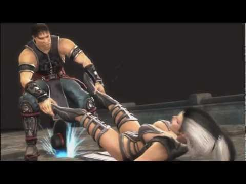 Mortal Kombat 9 Ryona Kung Lao Razor's Edge buzz saw fataltiy