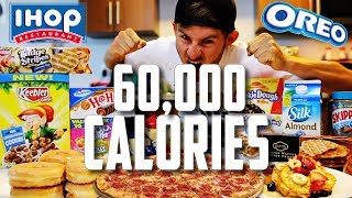 THE 60,000 CALORIE CHALLENGE