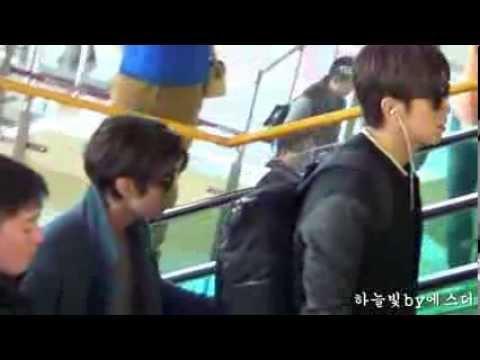 131025 동방신기 Yunho & Changmin 김포공항출국