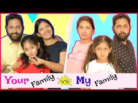 YOUR Family vs MY Family .. | #Sketch #Roleplay #Fun #ShrutiArjunAnand #Anaysa #MyMissAnand