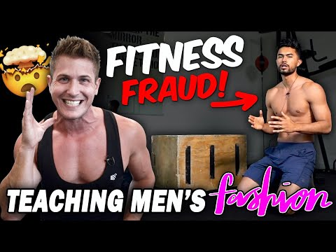 HIS LIES WILL NEVER GET YOU SHREDDED!  || (TEACHING MEN'S FASHION / FITNESS FRAUD)